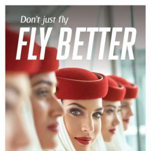 """Emirates, al via la nuova campagna """"fly better"""""""