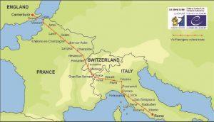 Ivrea: il 9 novembre l'assemblea generale delle vie Francigene