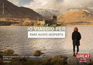 """VisitBritain lancia la nuova campagna marketing """"Io viaggio per…"""""""