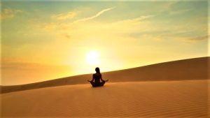 Corso di yoga nel deserto del Marocco con i Viaggi di Maurizio Levi