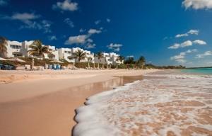 Una veduta del Cuisin Art Golf Resort & spa di Anguilla