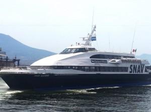 Snav, riparte il collegamento tra Napoli e le Isole Eolie