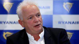 """Ryanair sollecita i governi ad adottare il sistema a """"semaforo Ue"""""""
