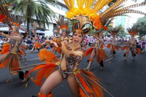 Tenerife festeggia un Carnevale in grande stile