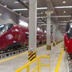 Italo inaugura una nuova area di manutenzione al centro Alstom di Nola