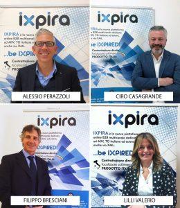Ixpira: quattro new entry nel team commerciale