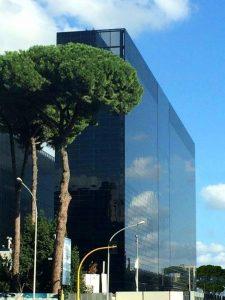 Hilton Rome Eur La Lama, a breve l'apertura dell'hotel progettato da Fuskas
