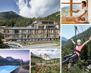 Excelsior Dolomites Life resort, estate tra trekking ed eventi