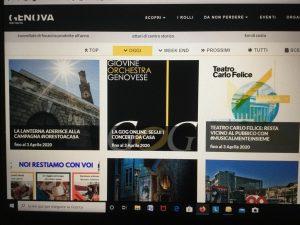 Genova, scoprire online il patrimonio artistico e culturale della città
