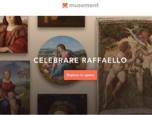 Musement: ecco il museo virtuale Raffaello500