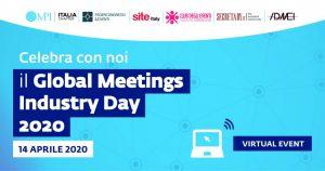 Il Global MeetingsIndustryDay 2020 sarà online il 14 aprile