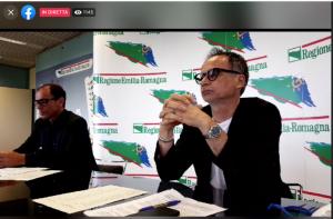 Emilia Romagna: conferenza stampa della regione. Poca concretezza sul turismo