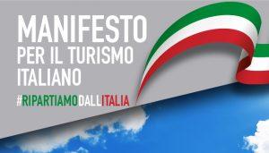 Manifesto per il turismo: servono 750 milioni a fondo perduto