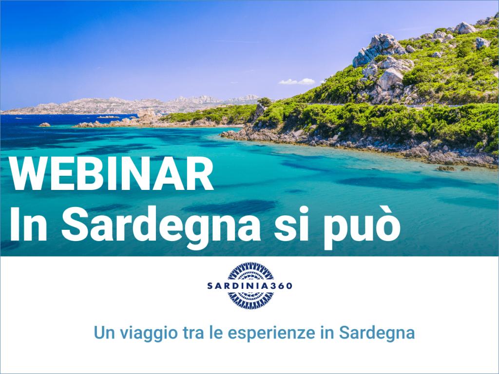"""""""In Sardegna si può"""": al via il webinar di Sardinia360 il 14 maggio ore 14:30"""