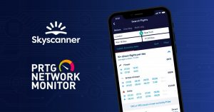 Skyscanner, accordo con PRTG Network per migliorare le performance
