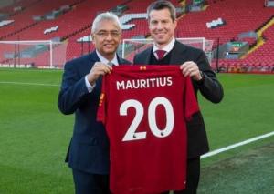 Mauritius e Liverpool Fc insieme per promuovere lo sviluppo turistico