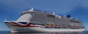 P&O Cruises conferma l'arrivo della nuova nave prima dell'autunno