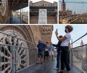 Parma, riprendono le visite guidate in quota a San Francesco del Prato