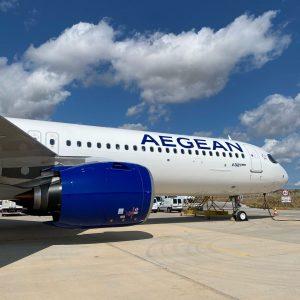 Aegean: in flotta il primo A321neo. Altri tre in arrivo nella primavera 2021