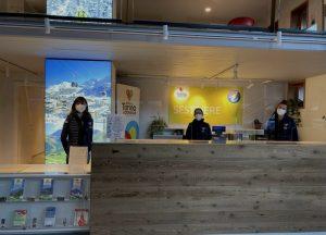 Sestriere, nuova sede di fronte alle piste per l'Ufficio del Turismo di Torino e Provincia