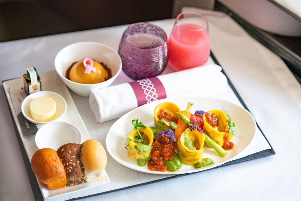 Qatar Airways: piatti gourmet vegani per i clienti Premium