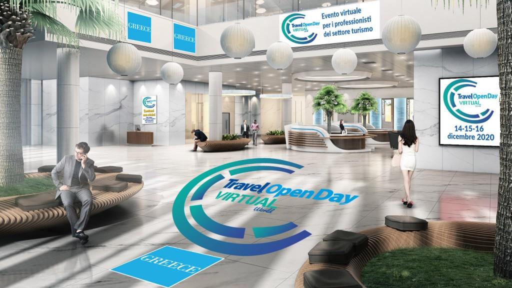 Travel Open Day Virtual accedi alla piattaforma