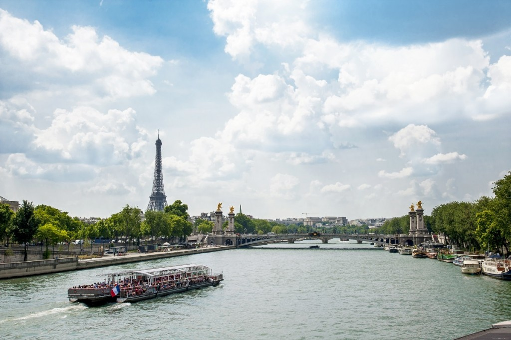 Paris from Le Havre, France