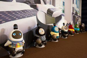 Negli hotel giapponesi New Otani arriva il robot empatico Lovot