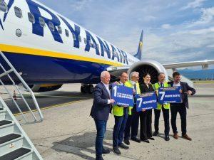 Ryanair a Milano Bergamo con il B737-8200: il network sale a 105 rotte, di cui 7 nuove