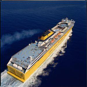 I traghetti Corsica Sardinia utilizzati da Ispra e Milano Bicocca per analizzare il dna del mare