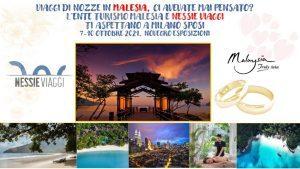 La Malesia rilancia sul target nozze: a MilanoSposi insieme a Nessie Viaggi