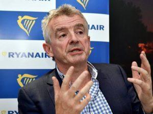 "O'Leary: ""Ryanair tornerà a fare utili 2023"". Tariffe più basse nei prossimi mesi"