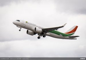 Air Côte d'Ivoire: in flotta il primo Airbus A320neo