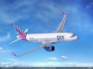 La greca Sky Express accoglie in flotta il primo dei sei A320neo ordinati