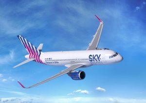 Sky express decolla domani sulla Roma-Atene con sei voli settimanali