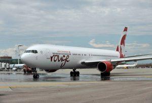 Air Canada Rouge cessa l'attività di volo, a tempo indeterminato