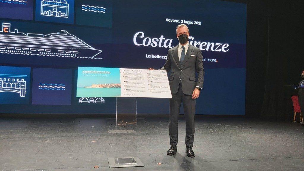 Costa lancia il Manifesto per un turismo di valore, sostenibile e inclusivo