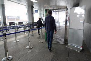 Aeroporto Milano Bergamo: operativa la cabina di sanificazione per i passeggeri