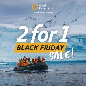 Arriva il black Friday di Quark Expeditions