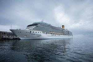 E' partita da Trieste la Luminosa: seconda unità della flotta Costa a rientrare in servizio