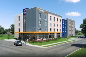 Choice Hotels rivela il nuovo prototipo Rise & Shine per il brand Comfort