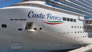 Partita la crociera di debutto della Costa Firenze: una nave pensata soprattutto per coppie e famiglie