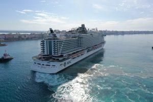 Msc: oggi la prima volta di Taranto