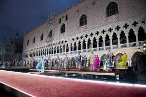 Aci blueteam protagonista della logistica delle sfilate Dolce&Gabbana di Venezia