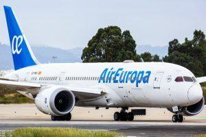Air Europa: diventano giornalieri i voli per Santo Domingo