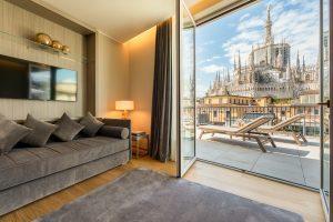 Aprono a Milano i nuovi Duomo Luxury Apartments by Rosa Grand griffati Starhotels
