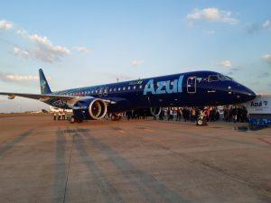 La linea aerea Azul Linhas Aereas de Brasil volerà con 200 velivoli elettrici