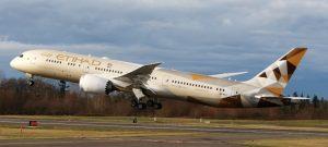 Etihad Airways: prima ripresa del traffico nella seconda metà 2021