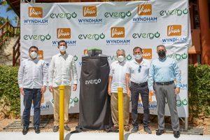 I Viva Wyndham primi a Bayahibe a dotarsi di postazioni di ricarica per veicoli elettrici
