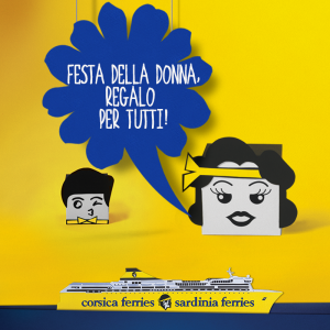 Corsica Sardinia Ferries: promozioni fino al 9 marzo per celebrare la festa della Donna